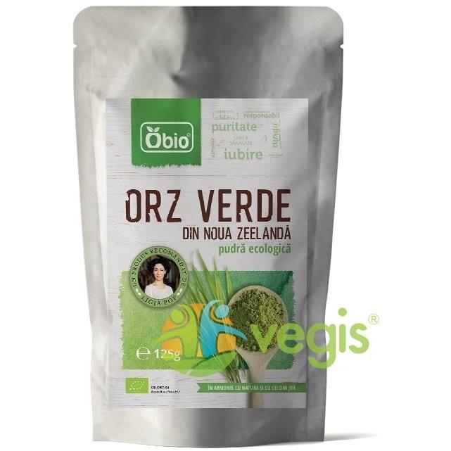 Orz Verde Pulbere Ecologic/Bio Noua Zeelenda 125g
