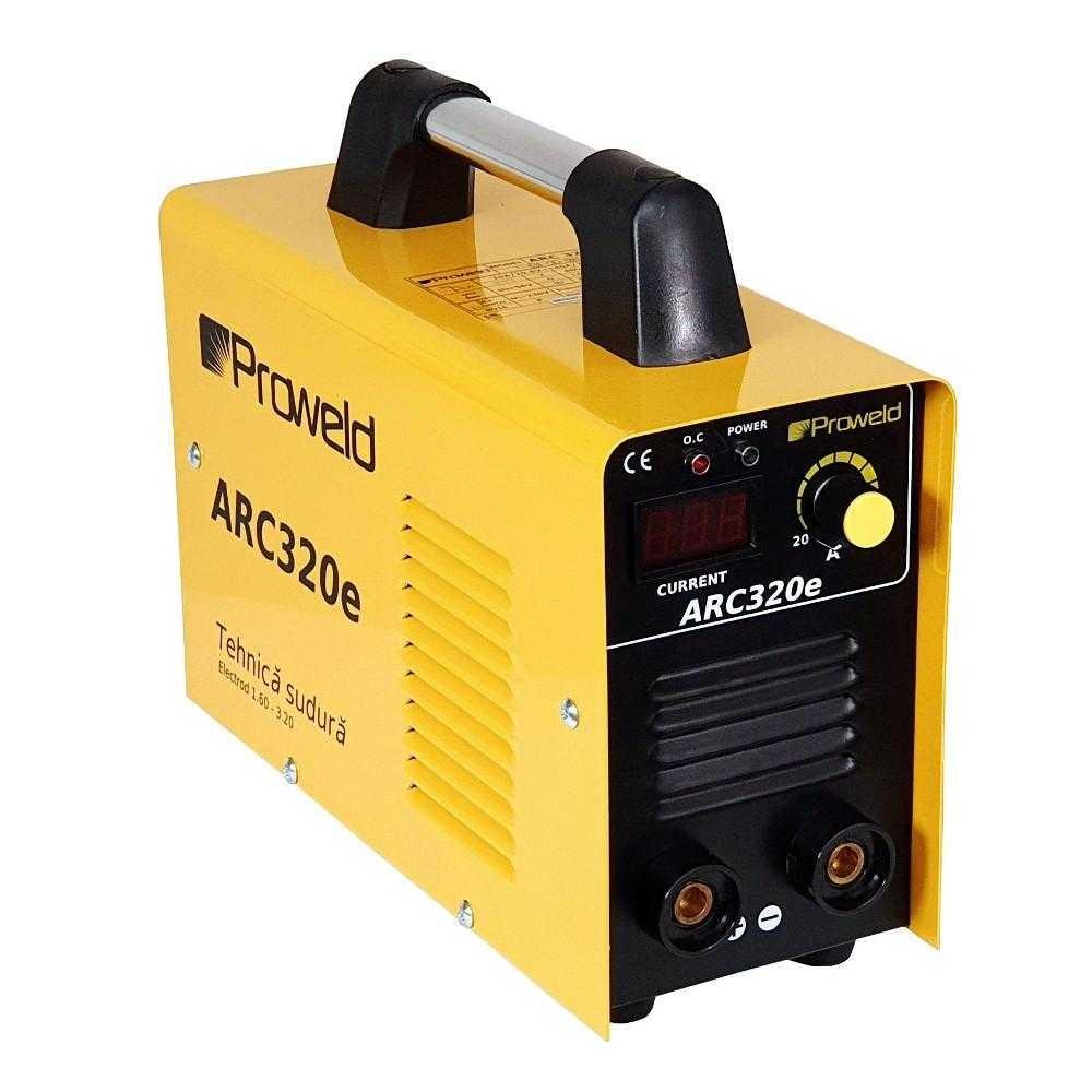 Aparat de sudura tip invertor ProWELD ARC320e