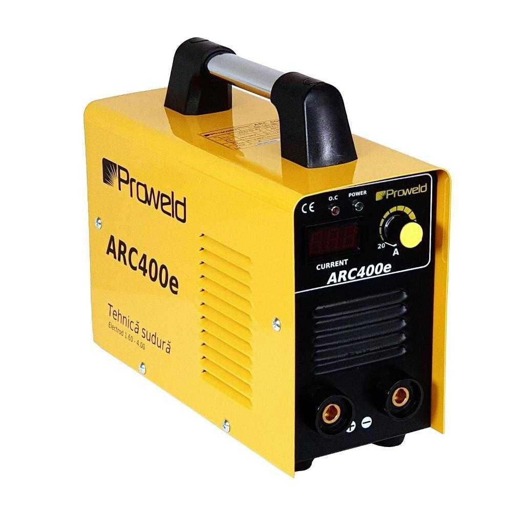 Aparat de sudura tip invertor ProWELD ARC400e