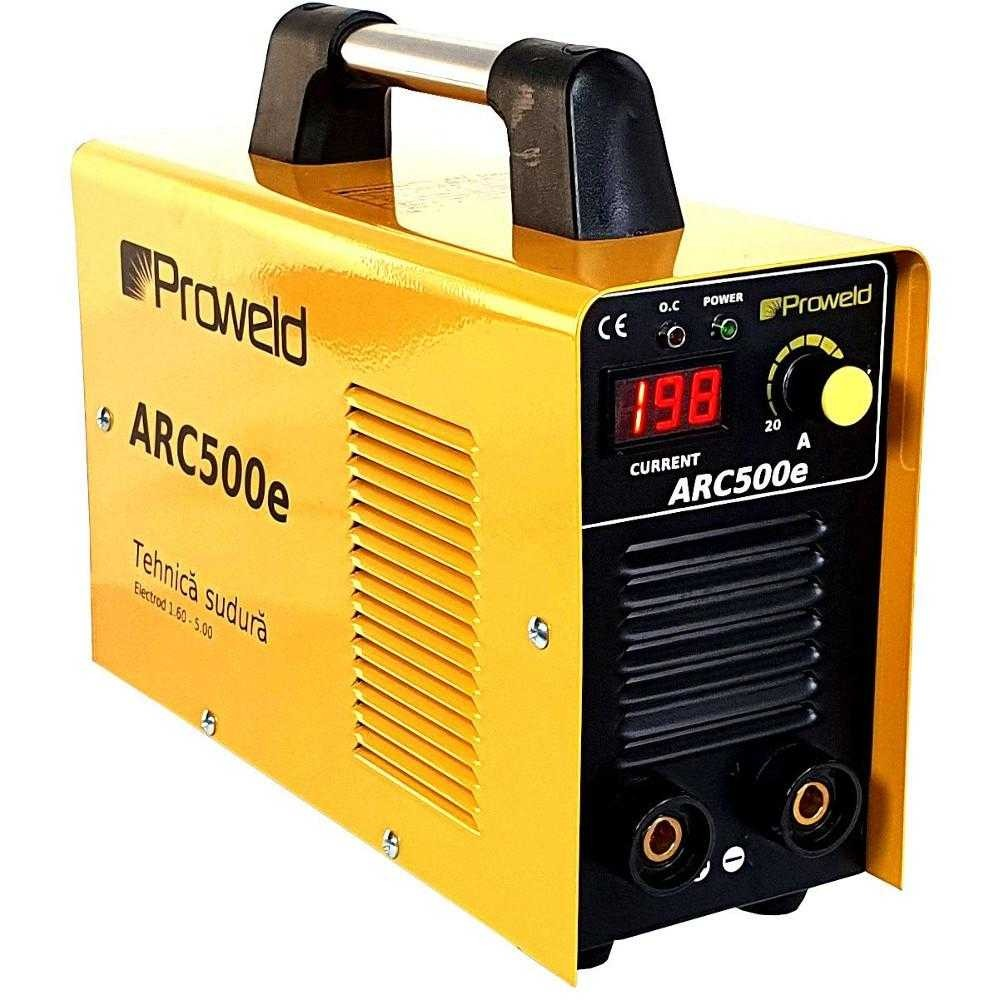 Aparat de sudura tip invertor ProWELD ARC500e