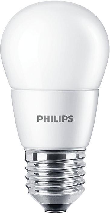 Bec LED Philips P48 E27 7W (60W), lumina naturala 4000K