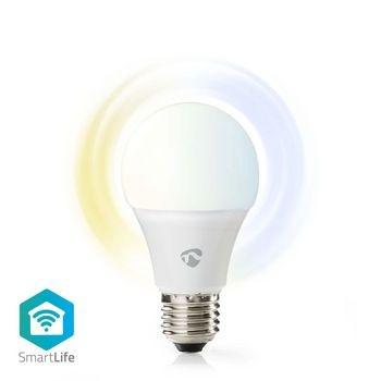 Bec LED Smart Wi-Fi Nedis, E27, 2700-6500K, 800 lm