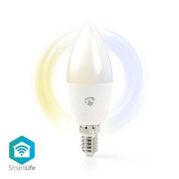 Bec LED Smart WiFi Nedis, E14, 350 lm, 2700 - 6500K