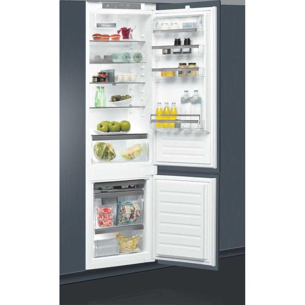 Combina frigorifica incorporabila Whirlpool ART 98101, LessFrost,  306 l, Clasa A+