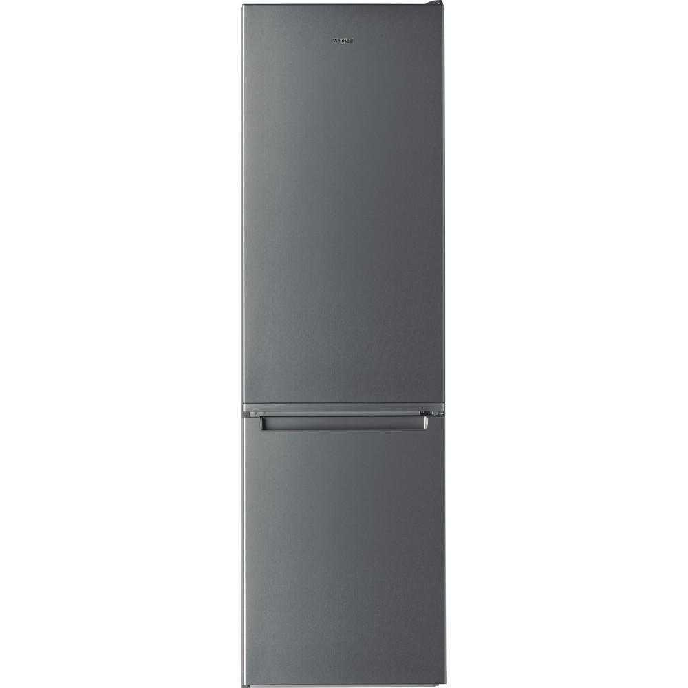 Combina frigorifica Whirlpool W5 921E OX 2, Less Frost, 372 l, Clasa A++