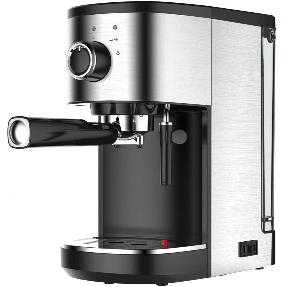 Espressor manual Orion OCM-5400, 1450 W, 1.25 L, 15 bar, Argintiu/Negru