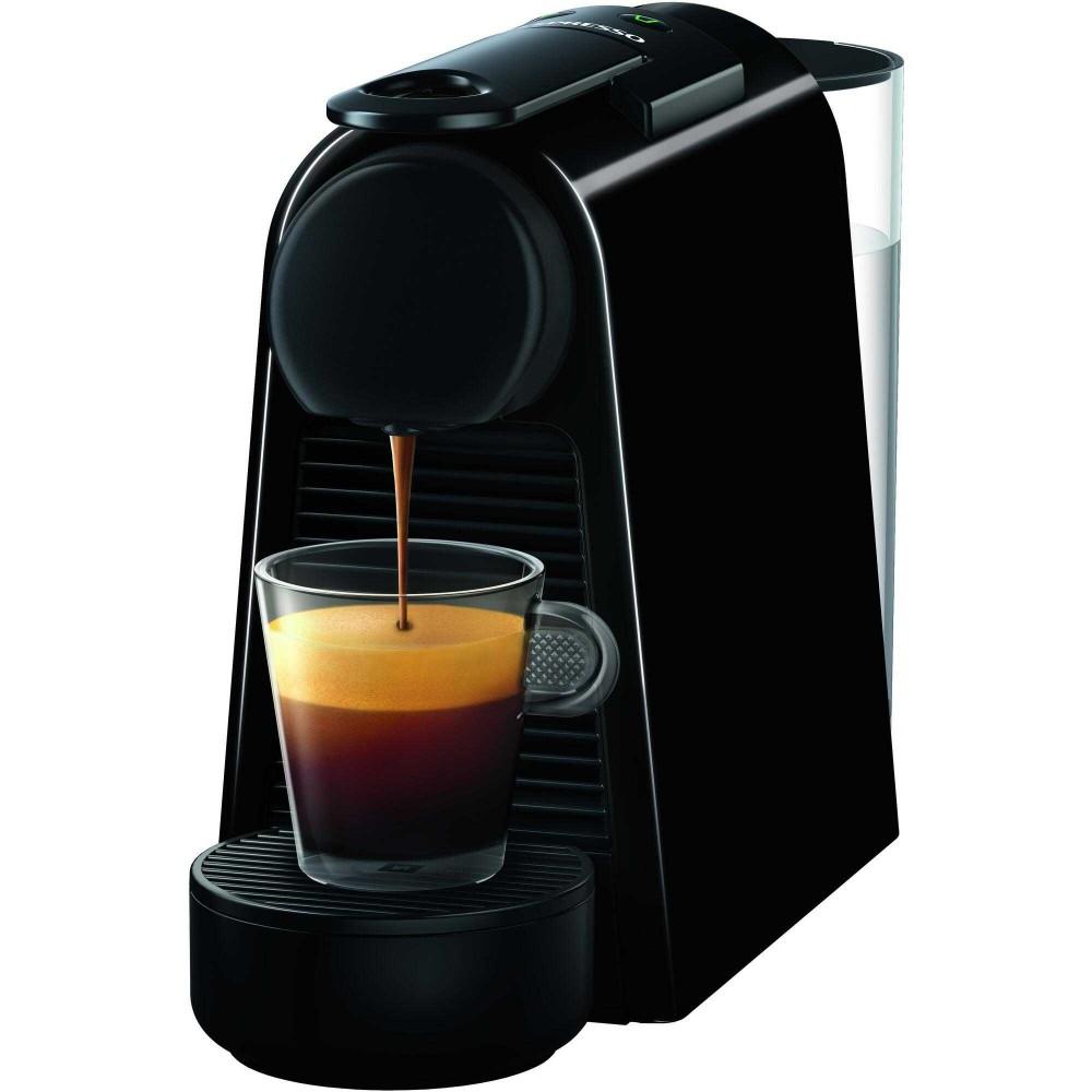 Espressor Nespresso Essenza Mini D30, 1260 W, 0.6 L, 19 bar, Negru