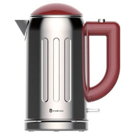 Fierbator RETRO60RED 2200W 1.7 litri Inox / Rosu