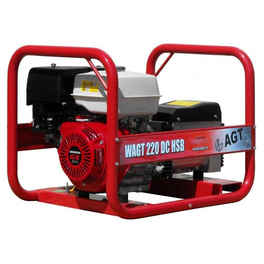 Generator trifazat pentru sudare Agent Trade WAGT 220 DC HSB, 6.5 KVA