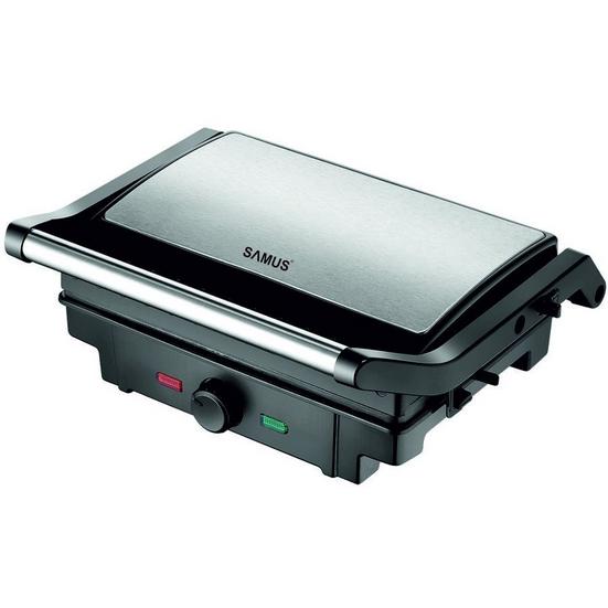 Gratar electric GTS-1500X 1500W Negru / Inox