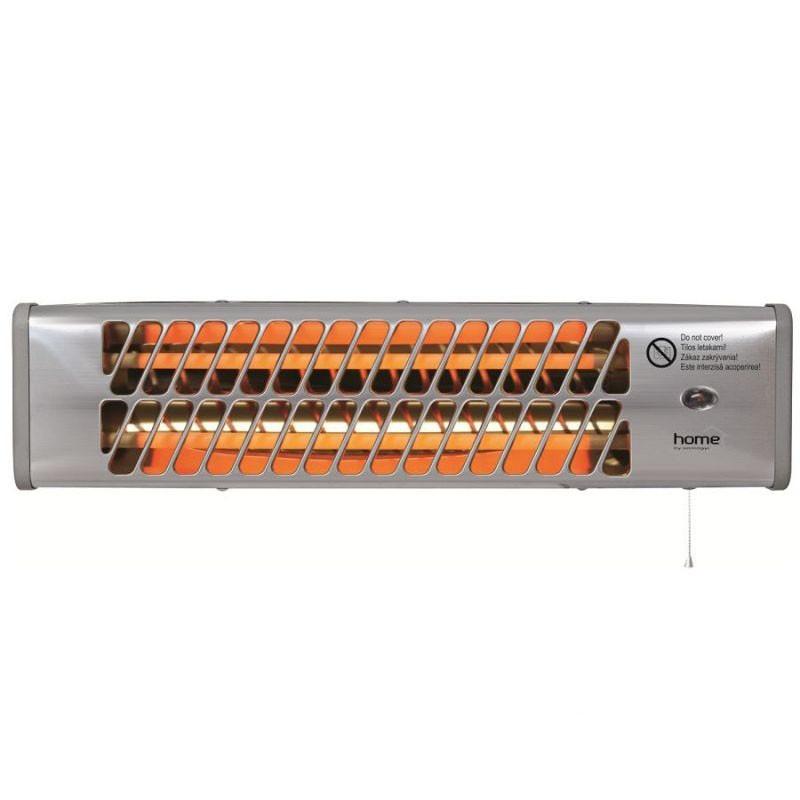 Incalzitor electric cu tub de cuart pe perete exterior, radiator putere 1200 W
