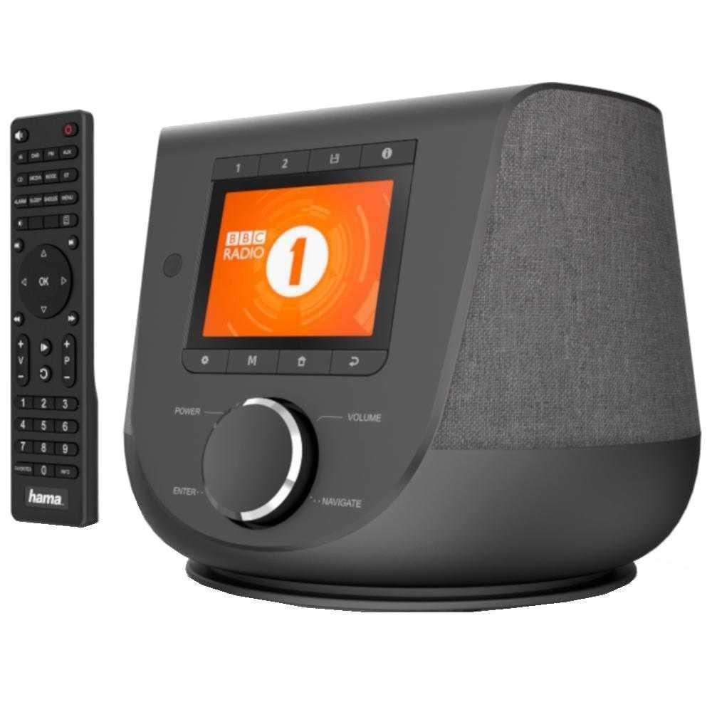 Internet Radio Hama DIR3200SBT, Bluetooth, DAB/DAB+, 10W, Negru