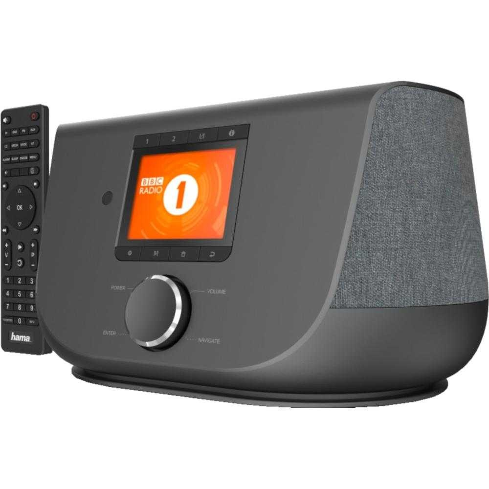 Internet Radio Hama DIR3300SBT, Bluetooth, DAB/DAB+, 20W, Negru