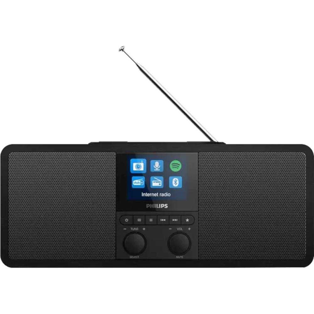 Internet radio Philips TAR8805/10, FM, Bluetooth, Negru