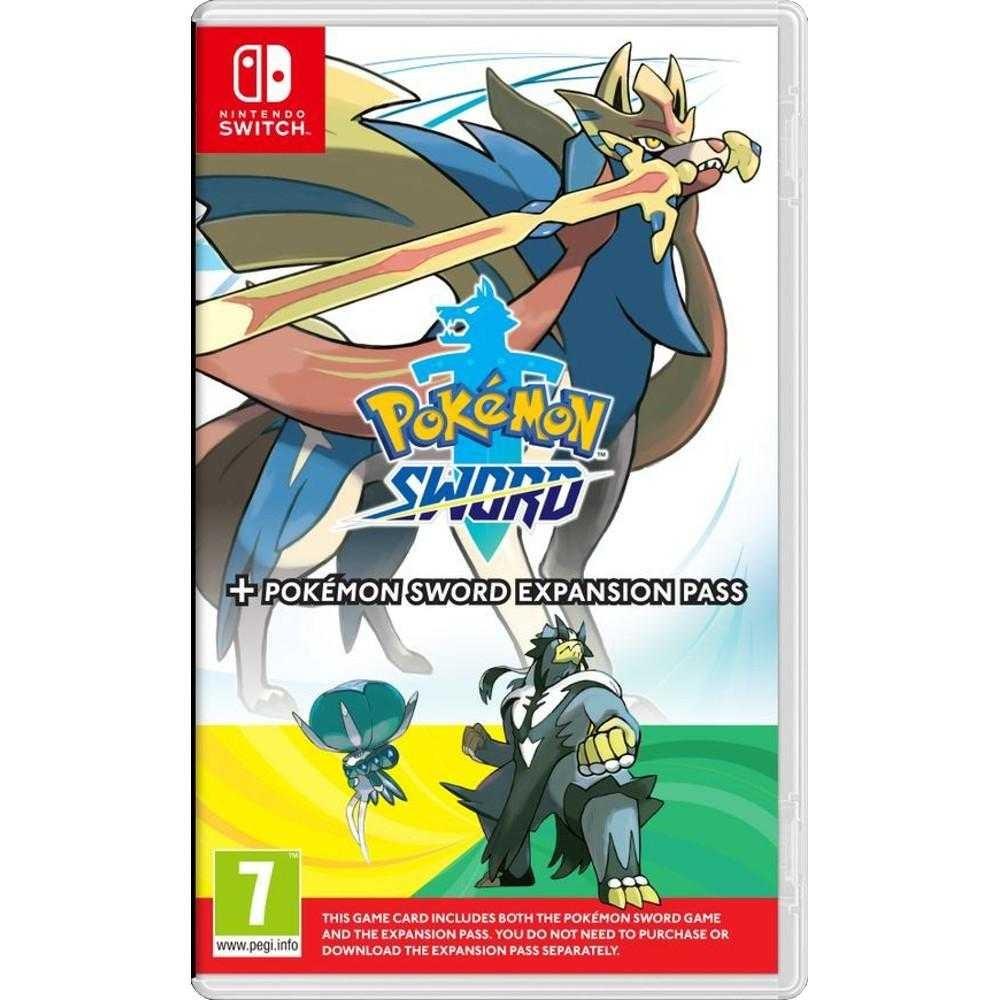 Joc Nintendo Switch Pokemon Sword + Expansion Pass