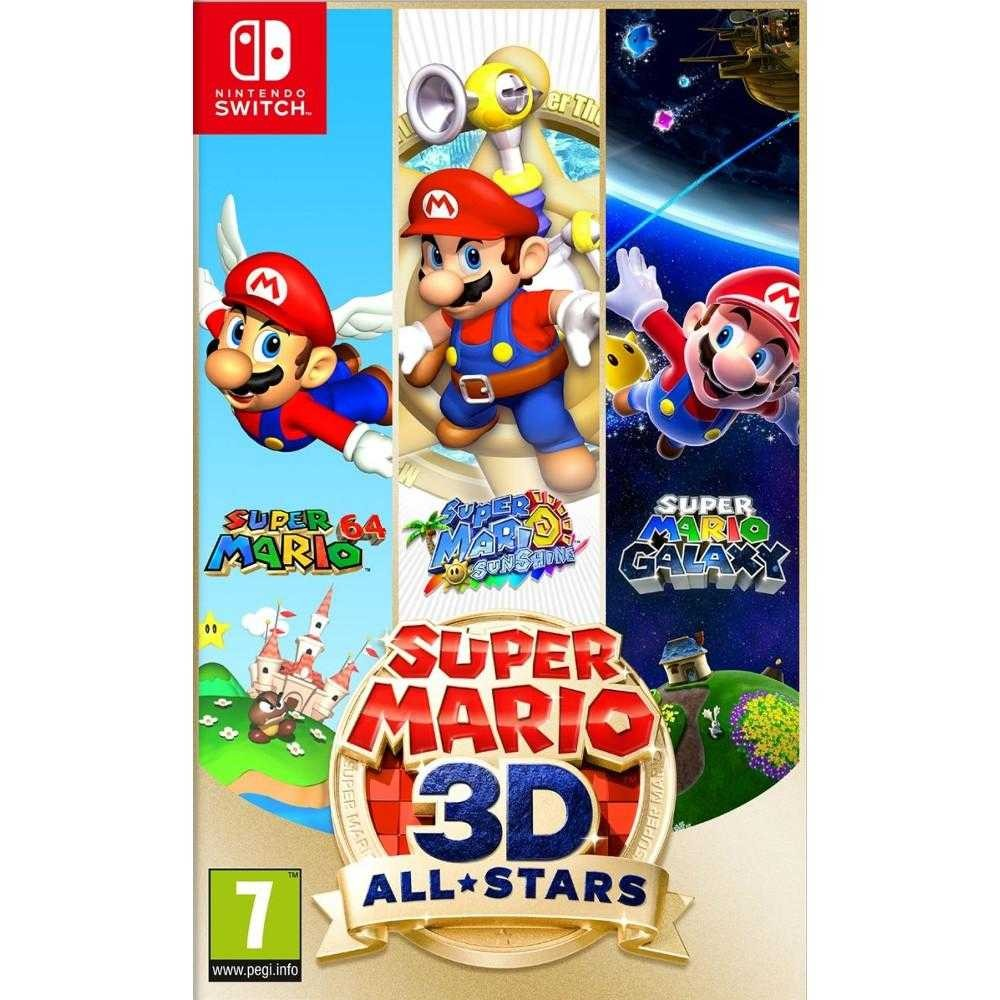 Joc Nintendo Switch Super Mario 3D All Stars