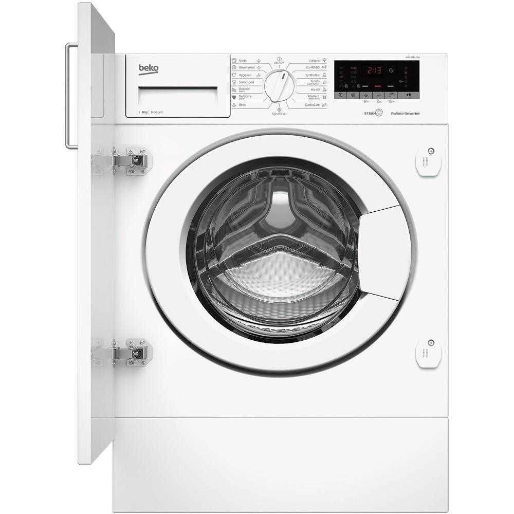 Masina de spalat rufe incorporabila Beko WITV 8712 X0W, 1400 RPM, 8 kg, Clasa A+++
