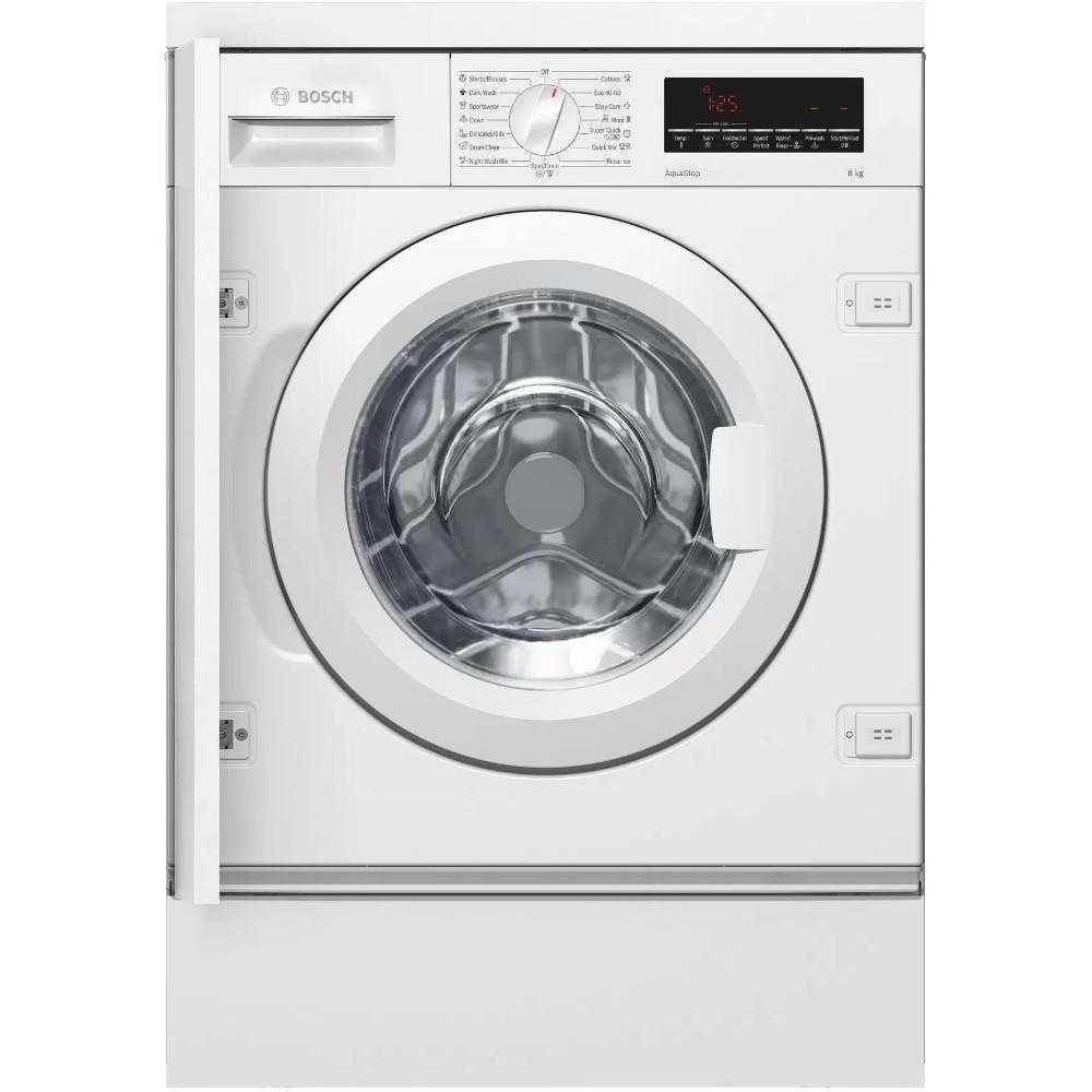Masina de spalat rufe incorporabila Bosch WIW28541EU, 1400 RPM, 8 Kg, Clasa C