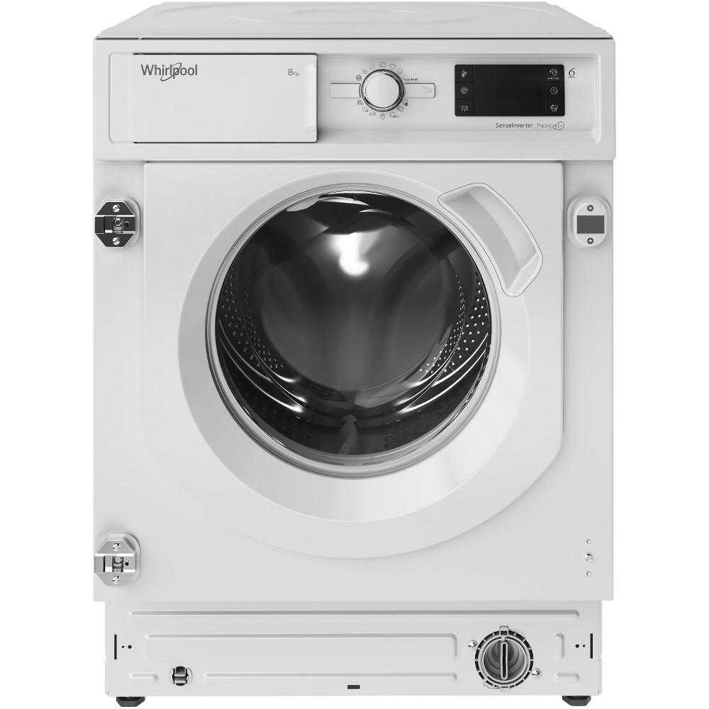 Masina de spalat rufe incorporabila Whirlpool BI WMWG 81484E EU, 1400 RPM, 8 Kg, Clasa C
