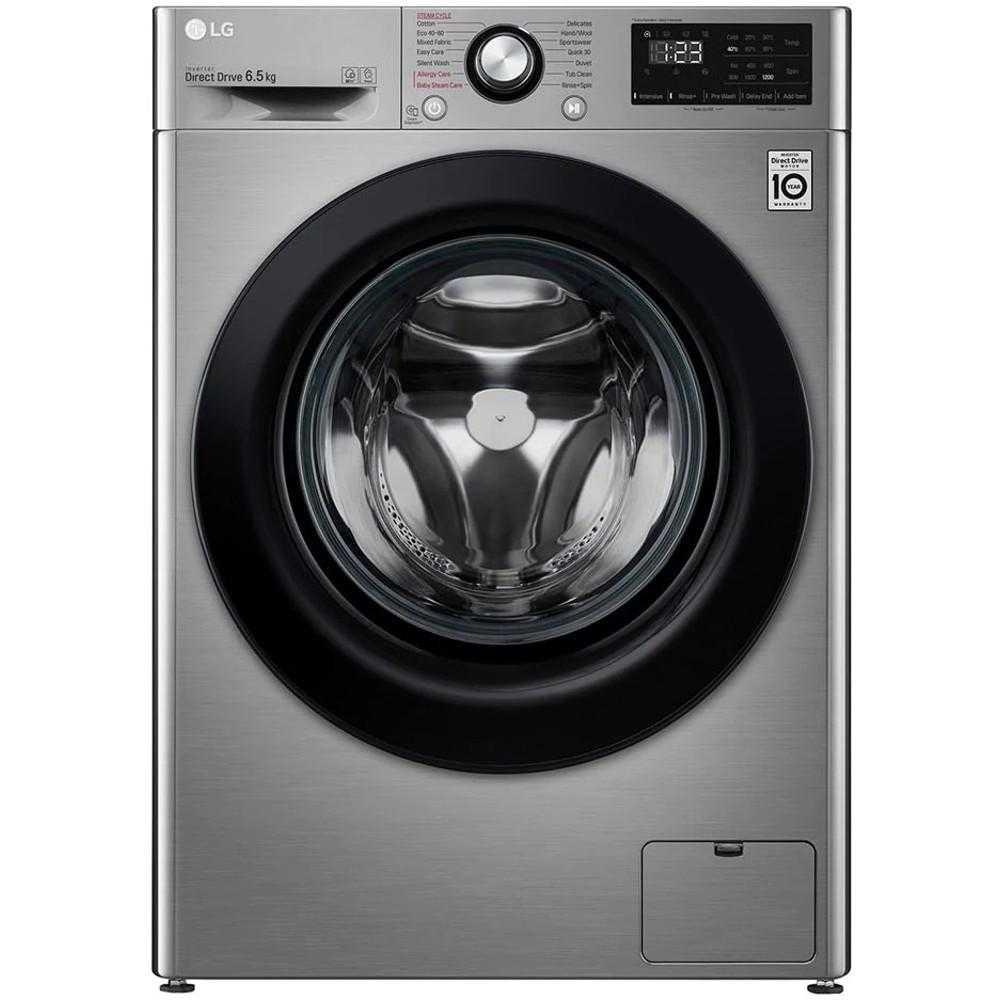 Masina de spalat rufe slim LG F2WN2S6S6TE, 1200 RPM, 6.5 kg, Clasa A+++