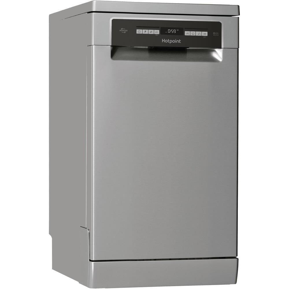 Masina de spalat vase Hotpoint HSFO3T223WCX, 10 seturi, 9 programe, Clasa A++