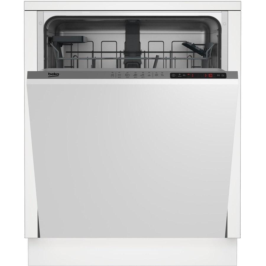 Masina de spalat vase incorporabila DIN25310 13 seturi 5 Programe Clasa energetica A+ Panou Gri