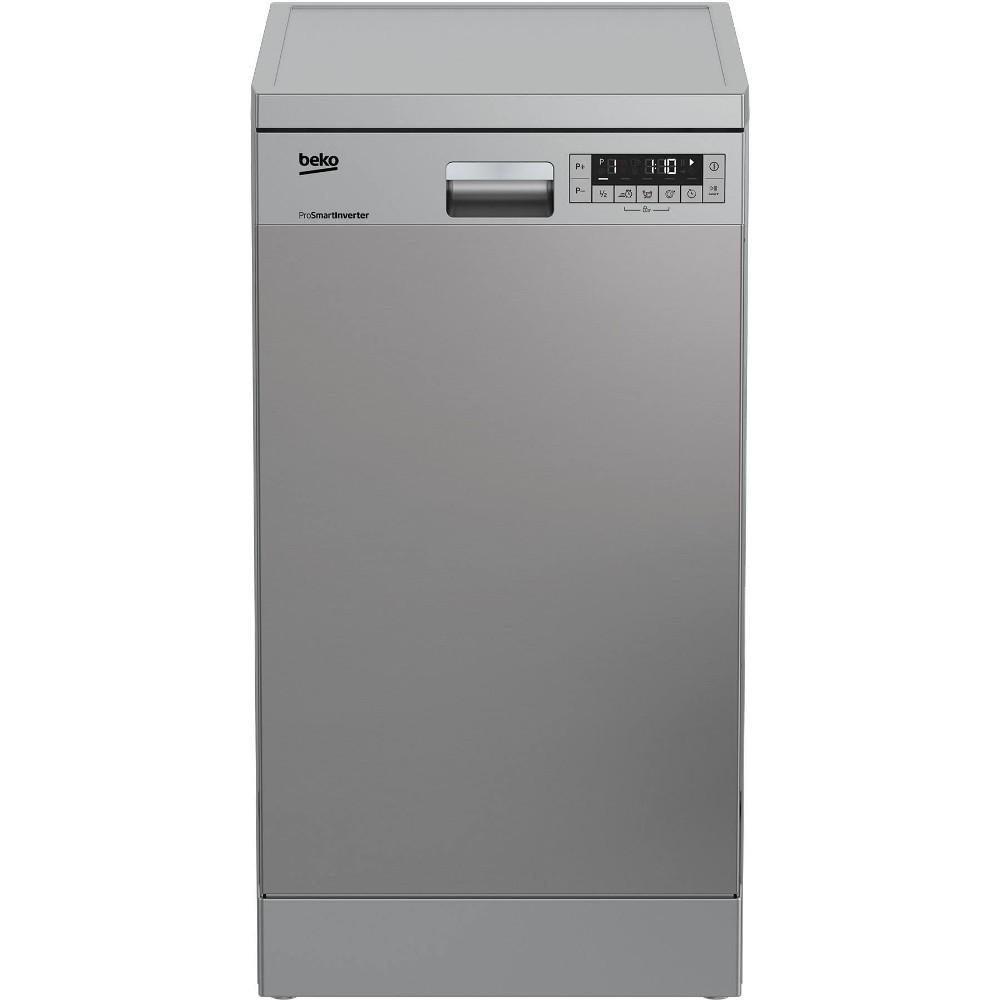 Masina de spalat vase slim Beko DFS26024X, 10 seturi, 6 programe, Clasa A++