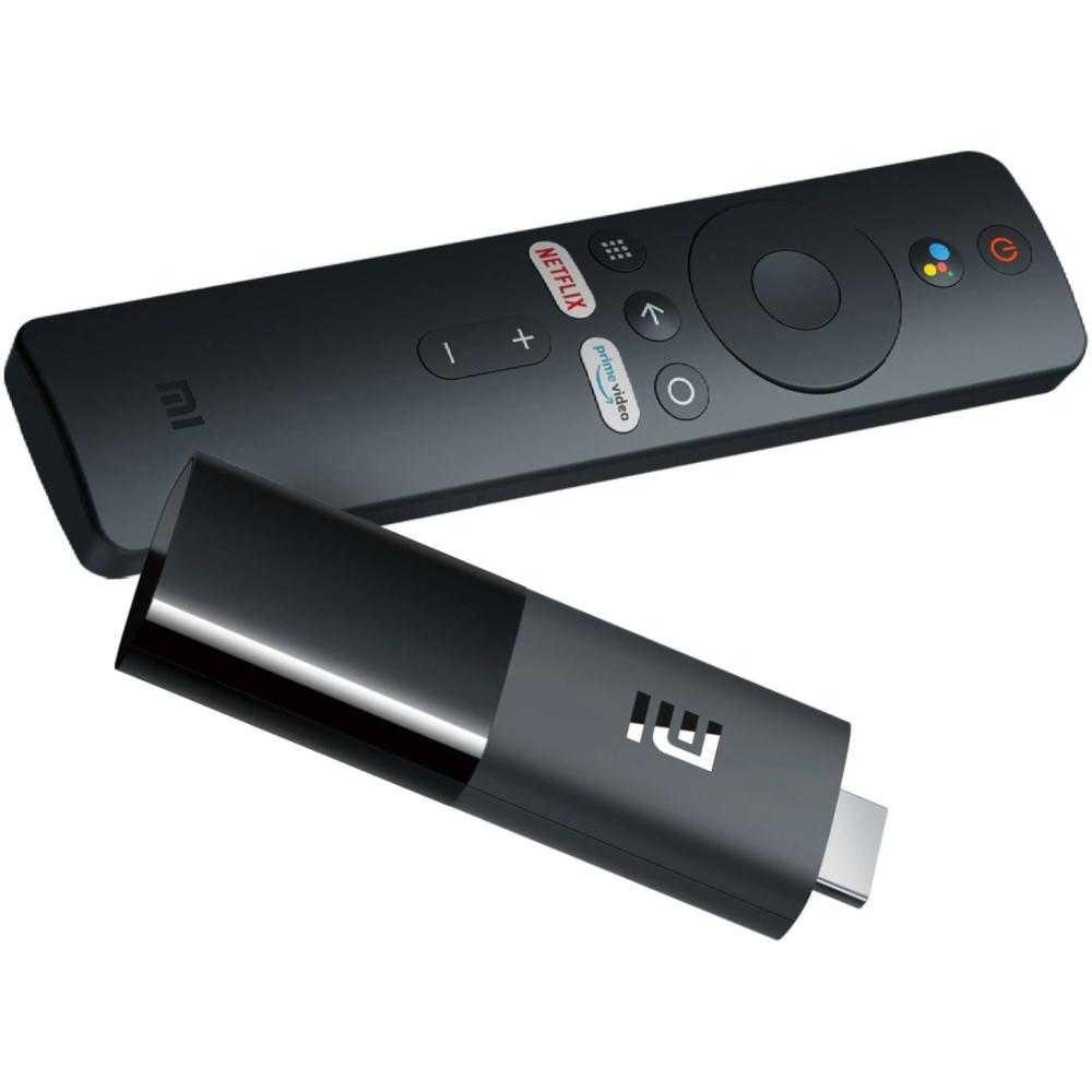 Mediaplayer Xiaomi Mi TV Stick, Full HD, Chromecast, Bluetooth, Wi-Fi, HDMI, Negru