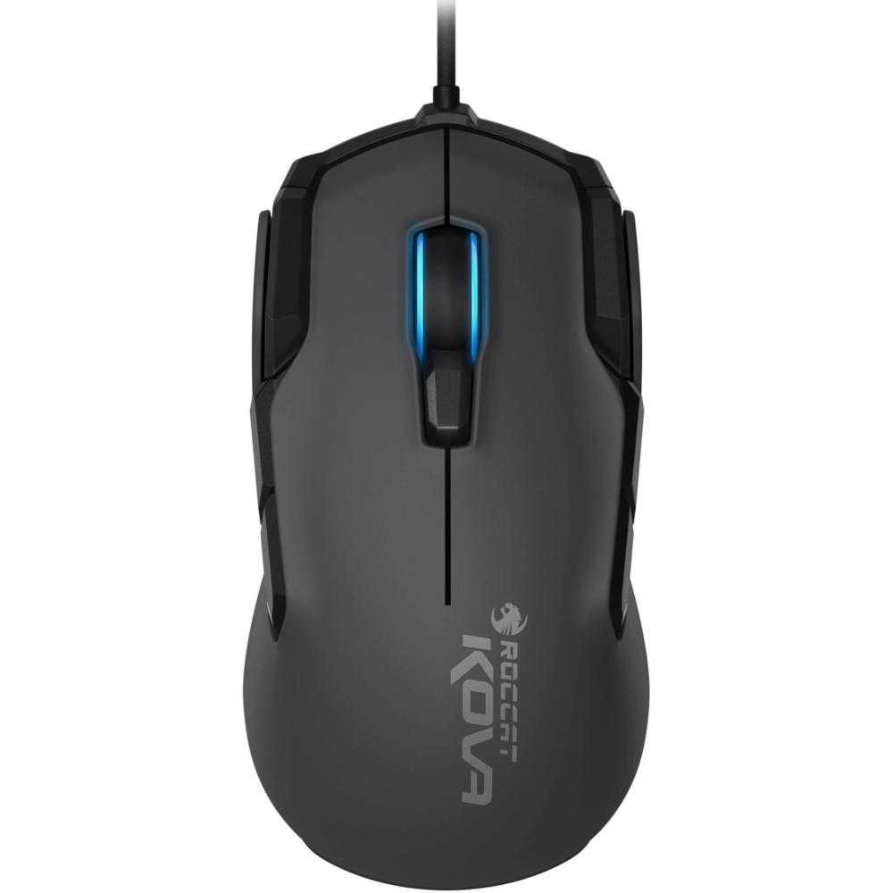 Mouse gaming Roccat Kova AIMO, RGB, Negru