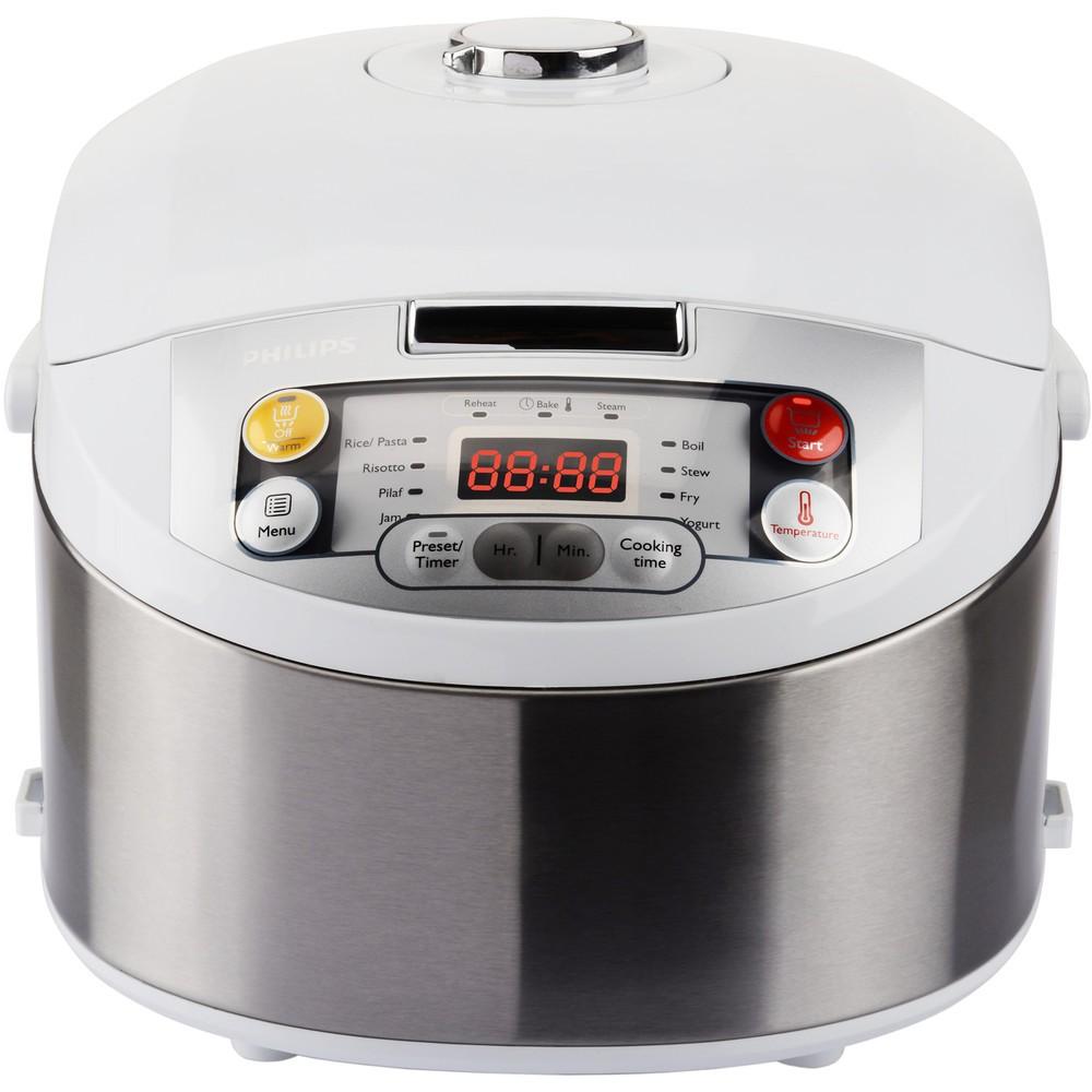Multicooker HD3037/70 Viva Collection 5 litri 980W  Alb Argintiu