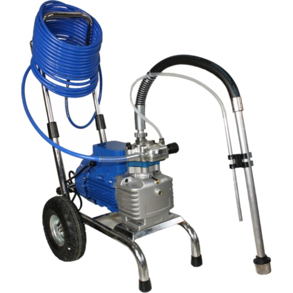 Pompa Airless pentru zugravit/vopsit Bisonte PAZ-6860E, 800 Bar, 1800W, Albastru