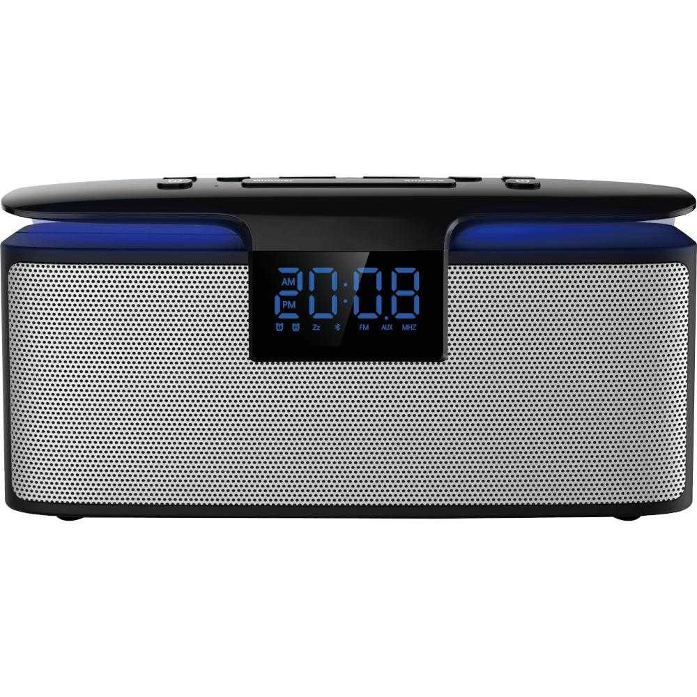 Radio cu ceas Akai ABTS-M10, Bluetooth, FM/AM, Negru
