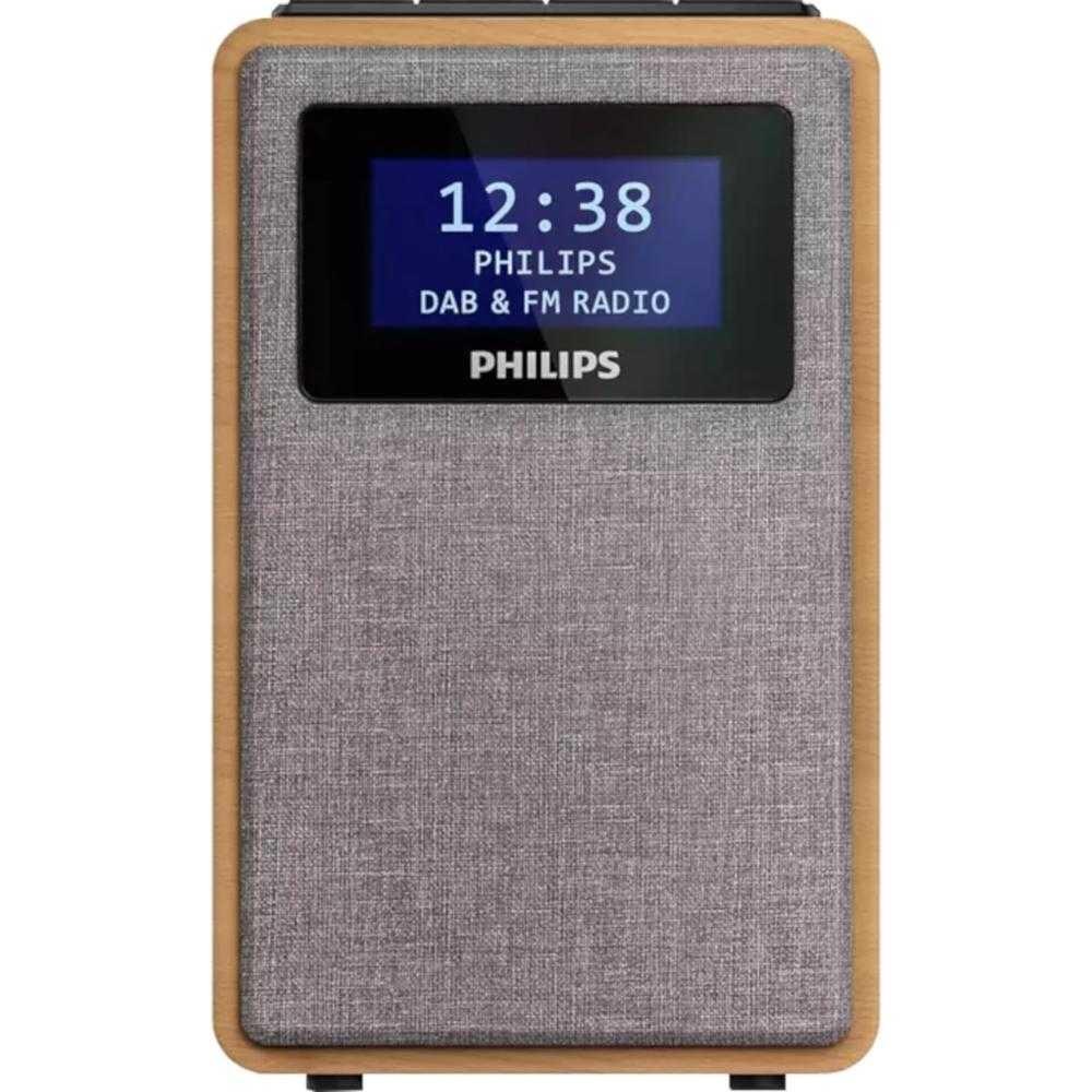Radio portabil Philips TAR5005/10, DAB+, FM, Maro