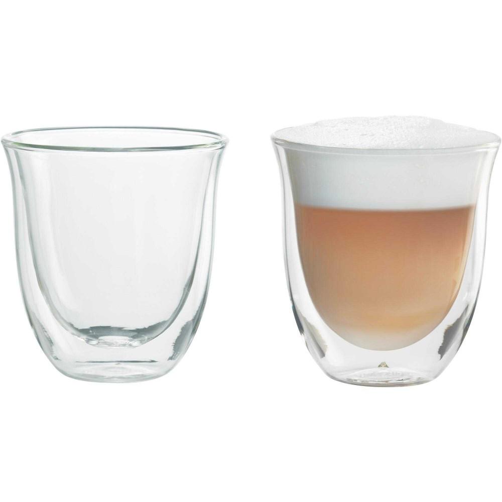 Set 2 Pahare Cappuccino DeLonghi, 190 ml