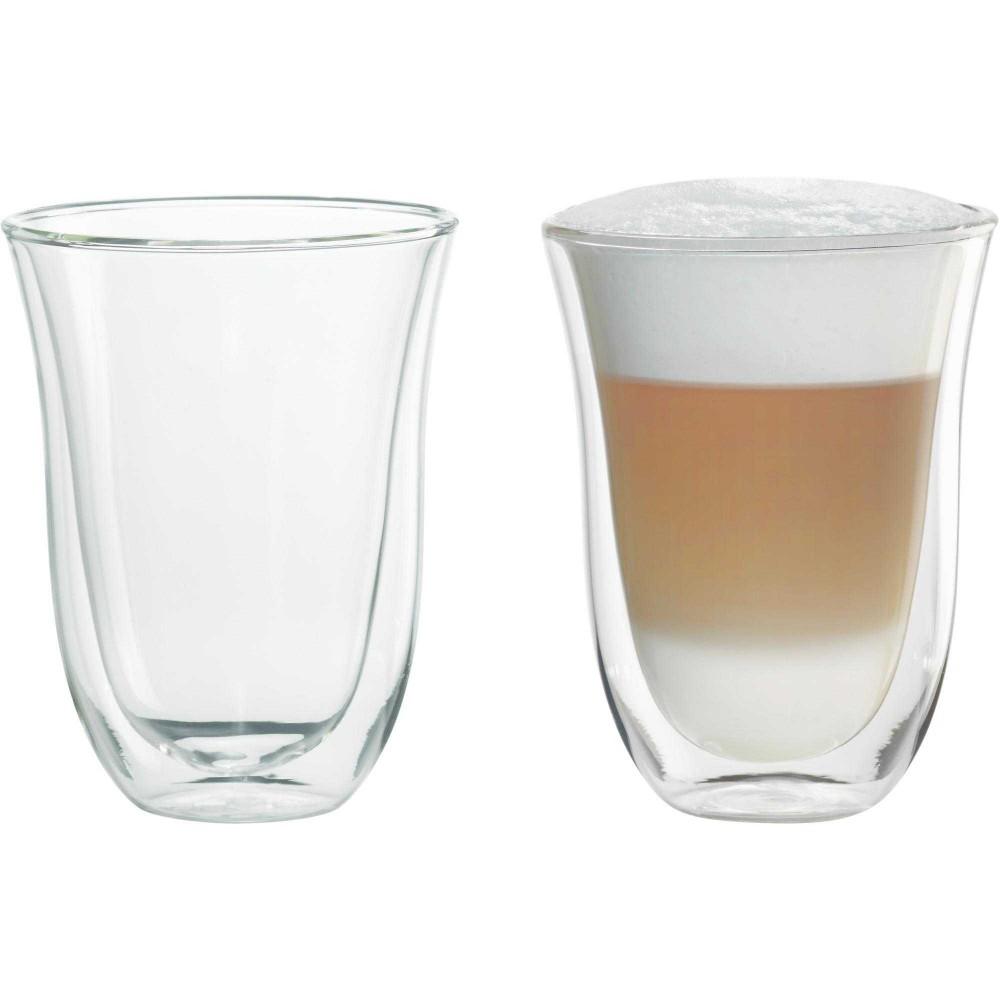 Set 2 Pahare LatteDeLonghi, 220 ml