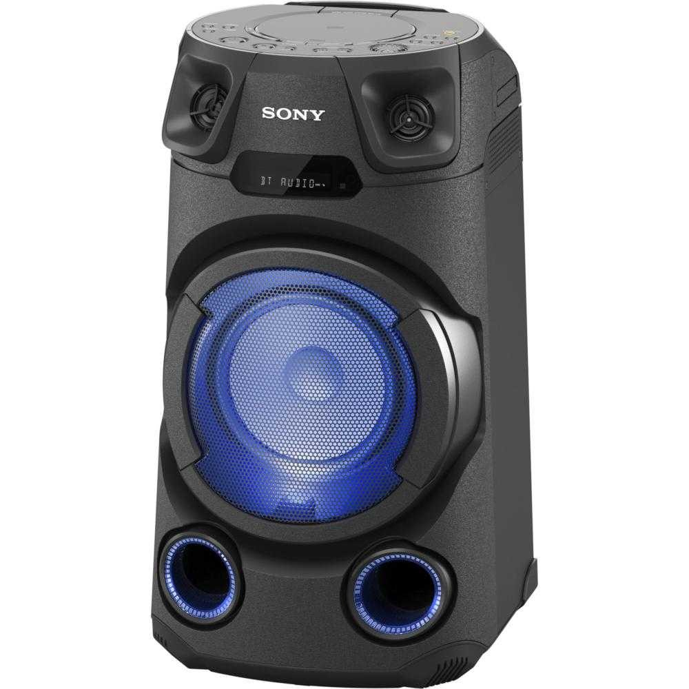 Sistem audio High Power Sony MHC-V13, Jet BASS Booster, Bluetooth, USB, CD, Negru