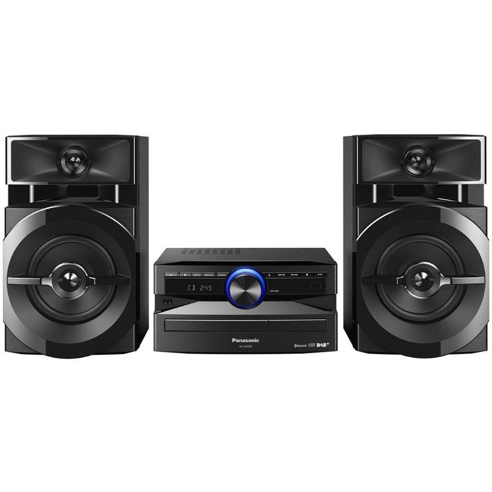 Sistem audio Panasonic SC-UX100E-K, 300W, Bluetooth, Negru