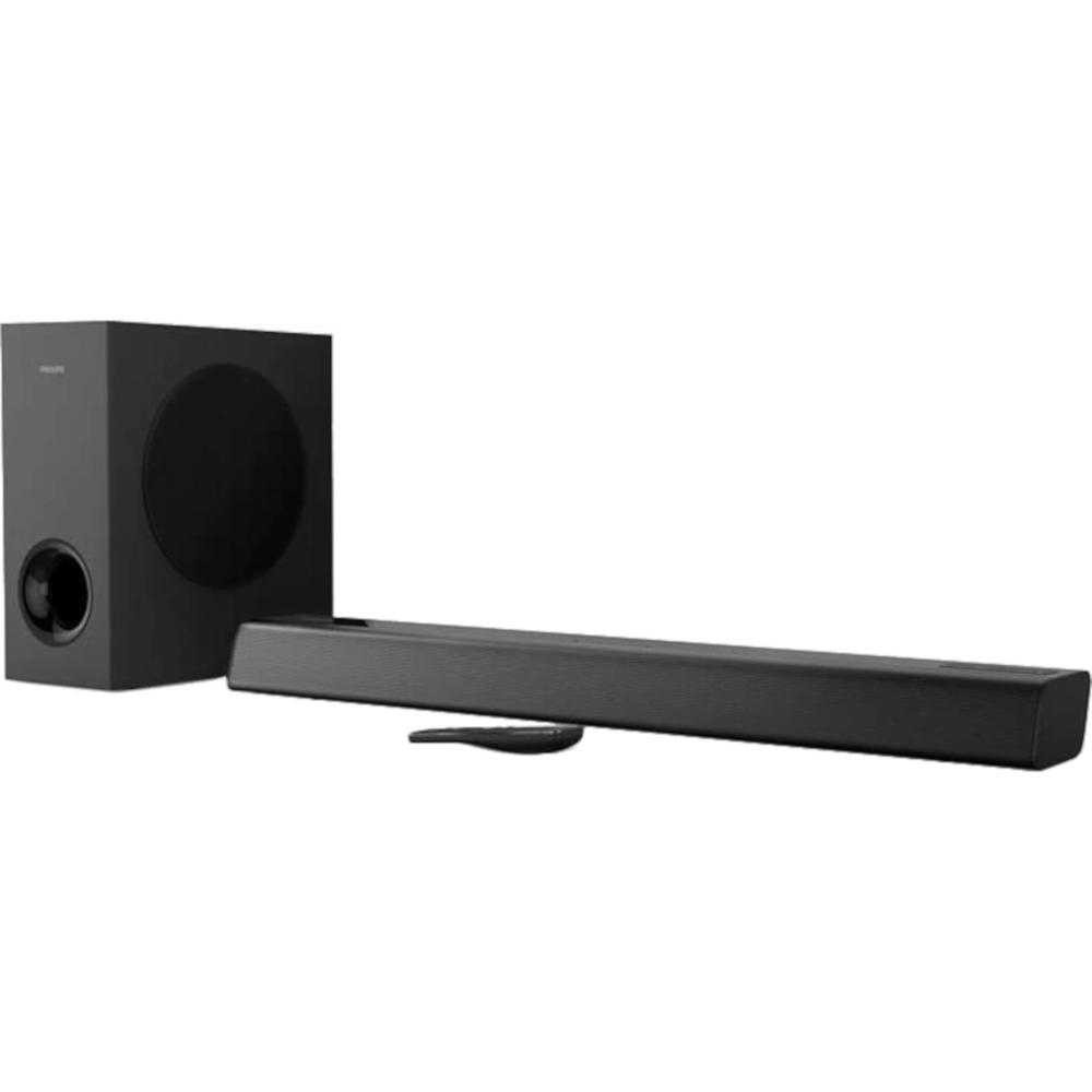 Soundbar Philips TAPB405/10, 2.1 ch, 120W, Subwoofer wireless, Dolby Audio, Negru