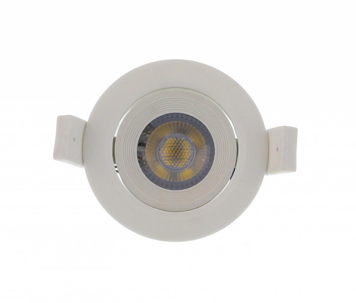 Spot LED incastrabil rotund mobil 3W 60mm 4000K, Well