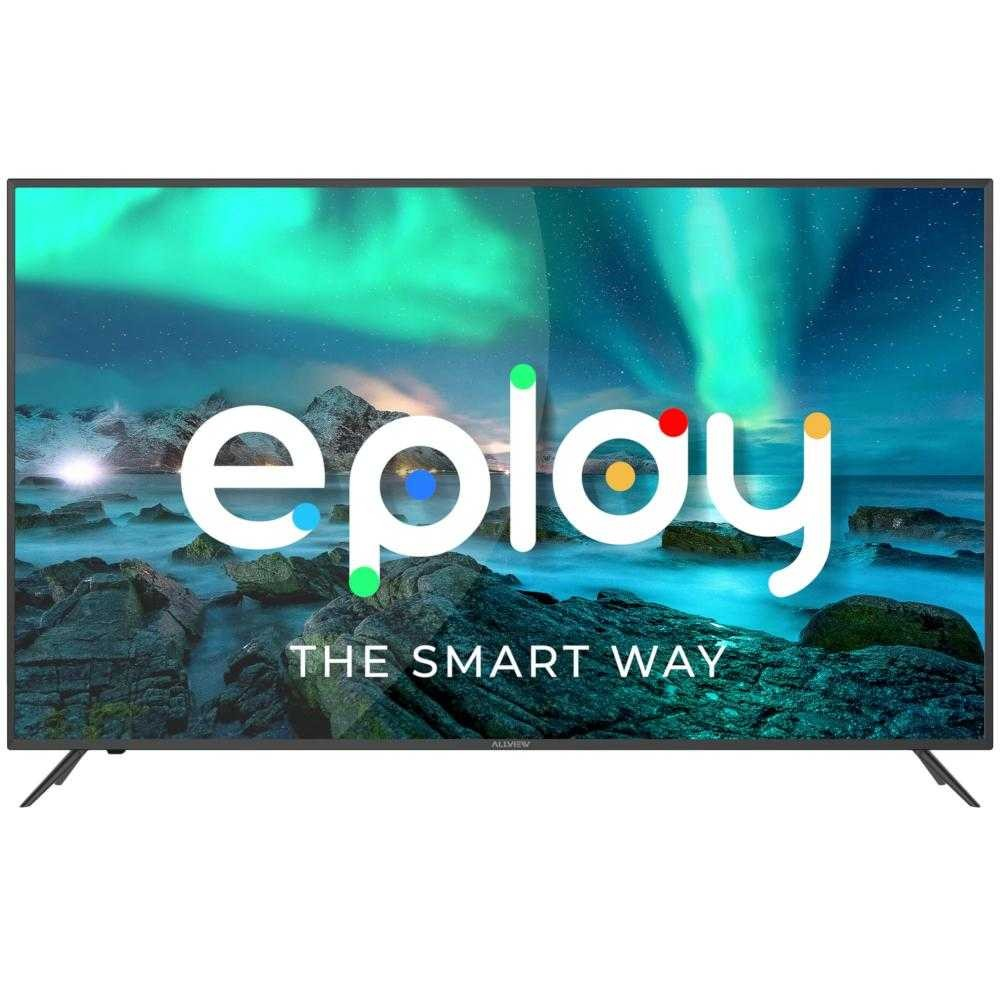 Televizor Smart LED, Allview 58EPLAY6000-U 147 cm, Ultra HD 4K, Android