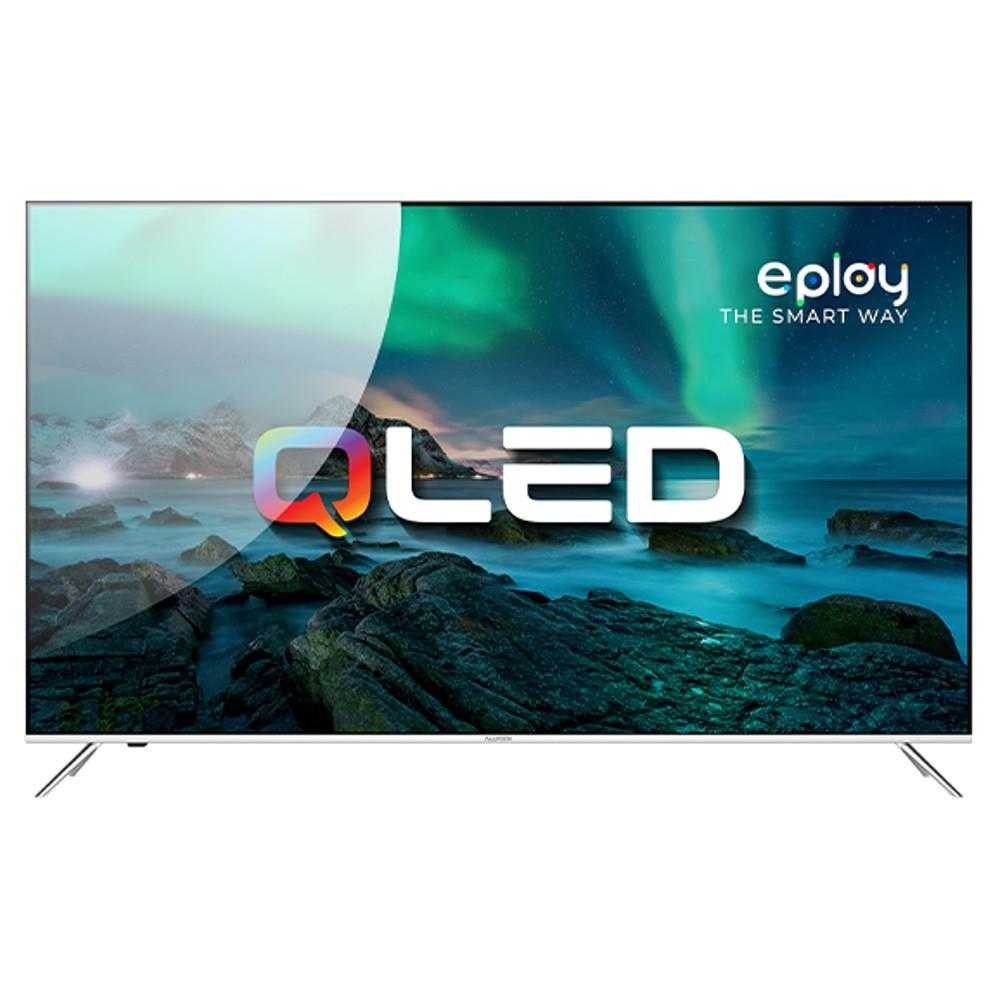 Televizor Smart QLED, Allview 65ePlay6100-U, 164 cm, Ultra HD 4K, Android