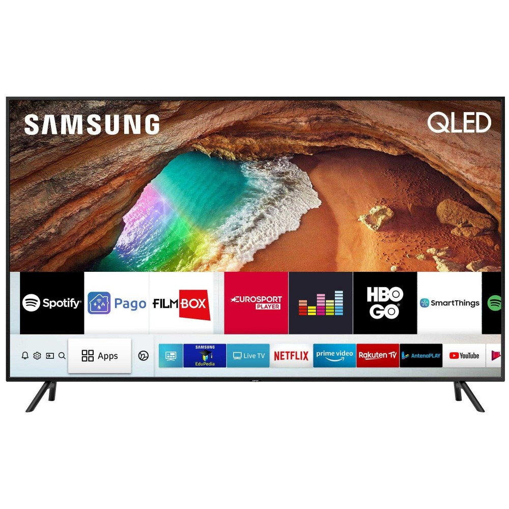 Televizor Smart QLED, Samsung 43Q60RA, 108 cm, Ultra HD 4K