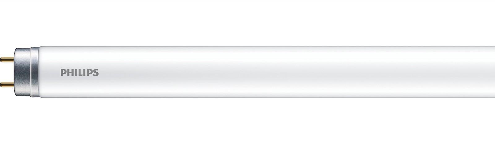 Tub LED Philips Ecofit T8, 16W, 1600 lm, 1200 mm, lumina rece 6500K