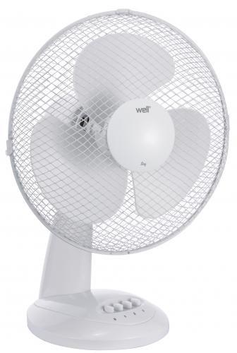 Ventilator De Masa, Diametru 27 cm, Alb