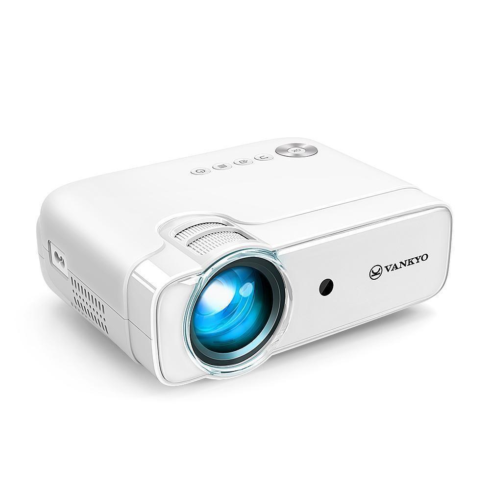 Videoproiector Vankyo Leisure 430, 800x480, 100 ANSI lumen, 3W cu geanta