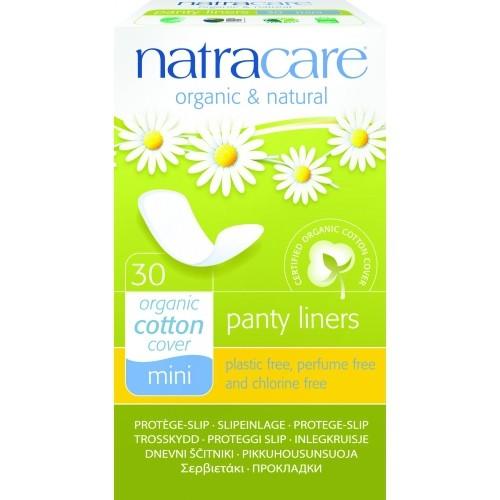 Absorbante zilnice bio Natracare - Mini/breathable, 30 buc