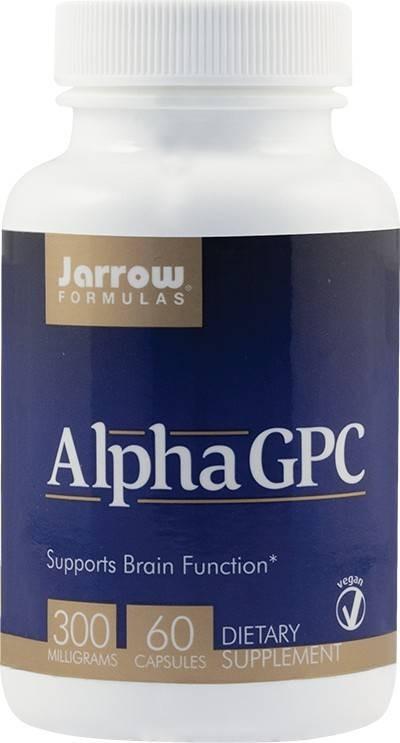 Alpha GPC 300 mg Secom - 60 cps