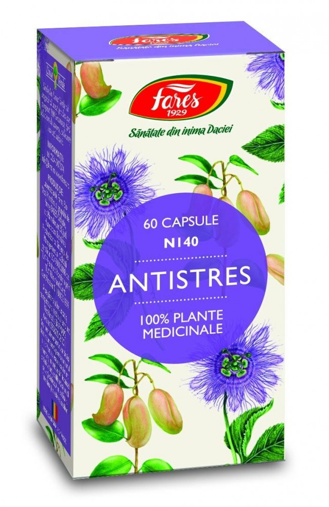 Antistres, 60 cps