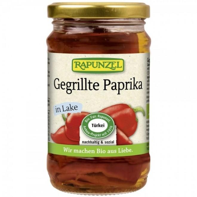 Ardei copt in saramura bio, Rapunzel, 310 g