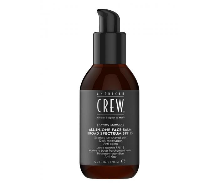 Balsam aftershave American Crew All-In-One Spf 15